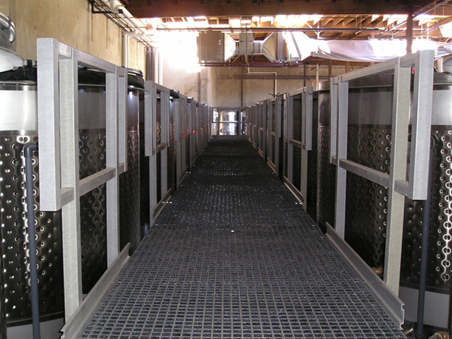 Fiberglass Reinforced Plastic in Winery