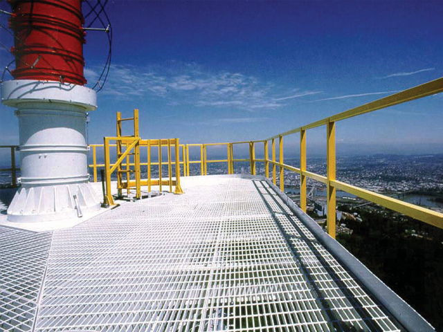 Fiberglass Reinforced Plastic Radio Frequency Transparent Railing